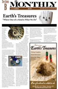 Thumbnail of Earth's Treasures Article, The Monthly, June 2012