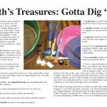 Earth's Treasures: Gotta Dig 'Em