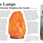 Stone Lamps, Salt Lamps Article
